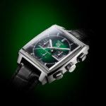 TAG Heuer, nuevo Monaco Green Dial