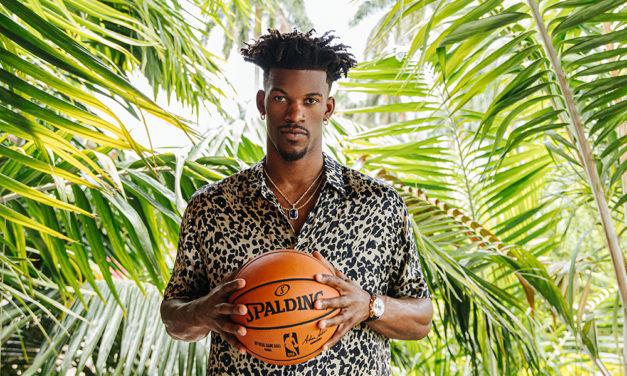 Jimmy Butler, estrella del baloncesto, nuevo embajador de TAG Heuer
