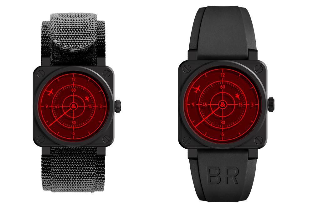 Reloj BR 03 Red Radar Ceramic
