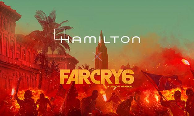 Hamilton crea un reloj a medida para el videojuego Far Cry 6