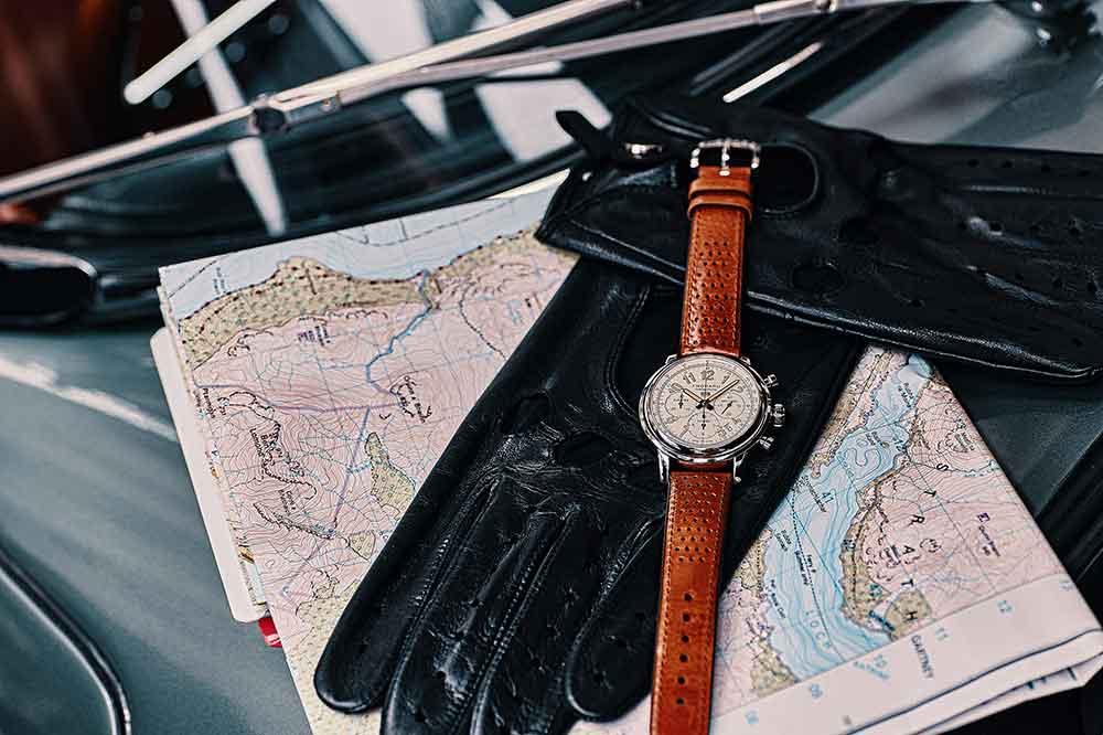 Chopard Mille Miglia Classic Chronograph Raticosa con esferan blanca