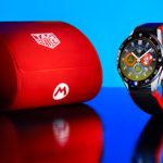 Super Mario quiere estrenar el TAG Heuer Connected Watch en su muñeca